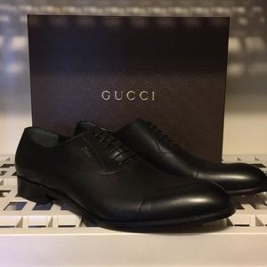 8a74f7489fc Gucci Shoes - New Gucci Oxford Black leathers laced shoe ❤ 🔥